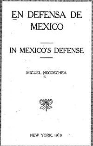 En Defensa de México (PDF ebook)